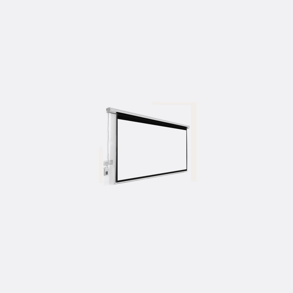 "xLab XPSER-100 Projector Screen, Electric 100"", 4:3 Matte, White 0.38mm Thickness"